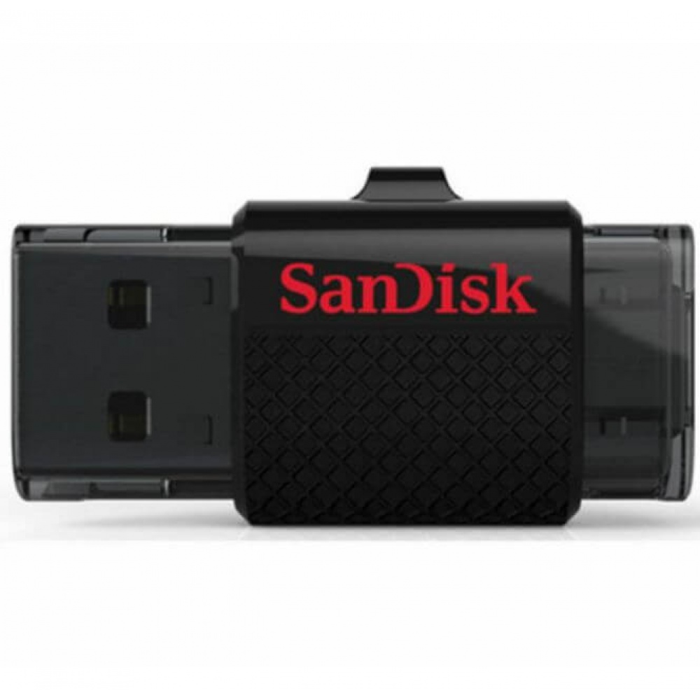 16GB SanDisk Ultra Dual OTG Micro USB Adapter Memory Stick ...
