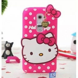2d hello kitty case pink