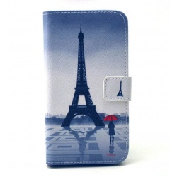 Galaxy s6 Flip Case Eiffel Tower‎ front view