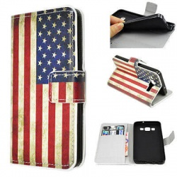 Galaxy A3 Flip Case Usa Flag Buynowcy