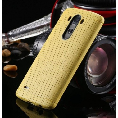 Yellow Tpu LG G3 Rubber Silicone Case