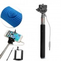 wired black selfie stick