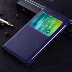 Blue smart view case samsung galaxy a7