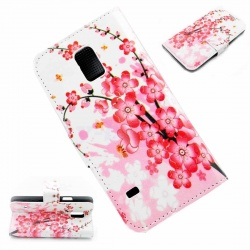 s5 mini Pink Flower Plum Case Buynowcy