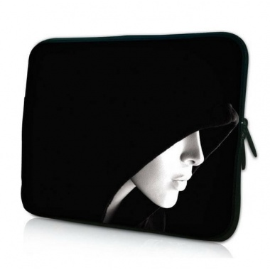 laptop-netbook-case-black-hooded-lady