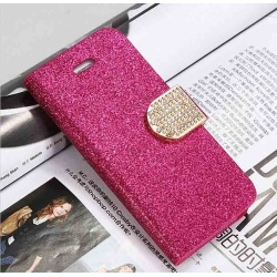 Luxury Hot Pink Bling Case for iPhone 5C