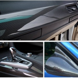 5D High Glossy Carbon Fiber Vinyl Film Car Styling Wrap Motorcycle Car Styling Accessories Waterproof Carbon Fiber Film