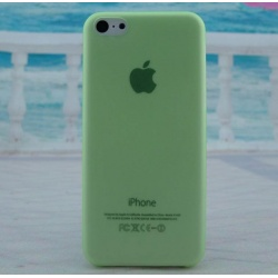 green thin back cover case iPhone 5c