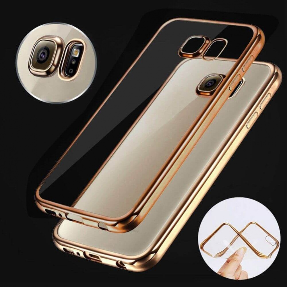 Shockproof Silicone Bumper Clear Slim Case Cover For Samsung Galaxy Aluminium Metal Untuk A3 2015 S7 Edge Cyprus Buynowcy