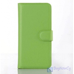 LG G5 leather flip Wallet Case GREEN