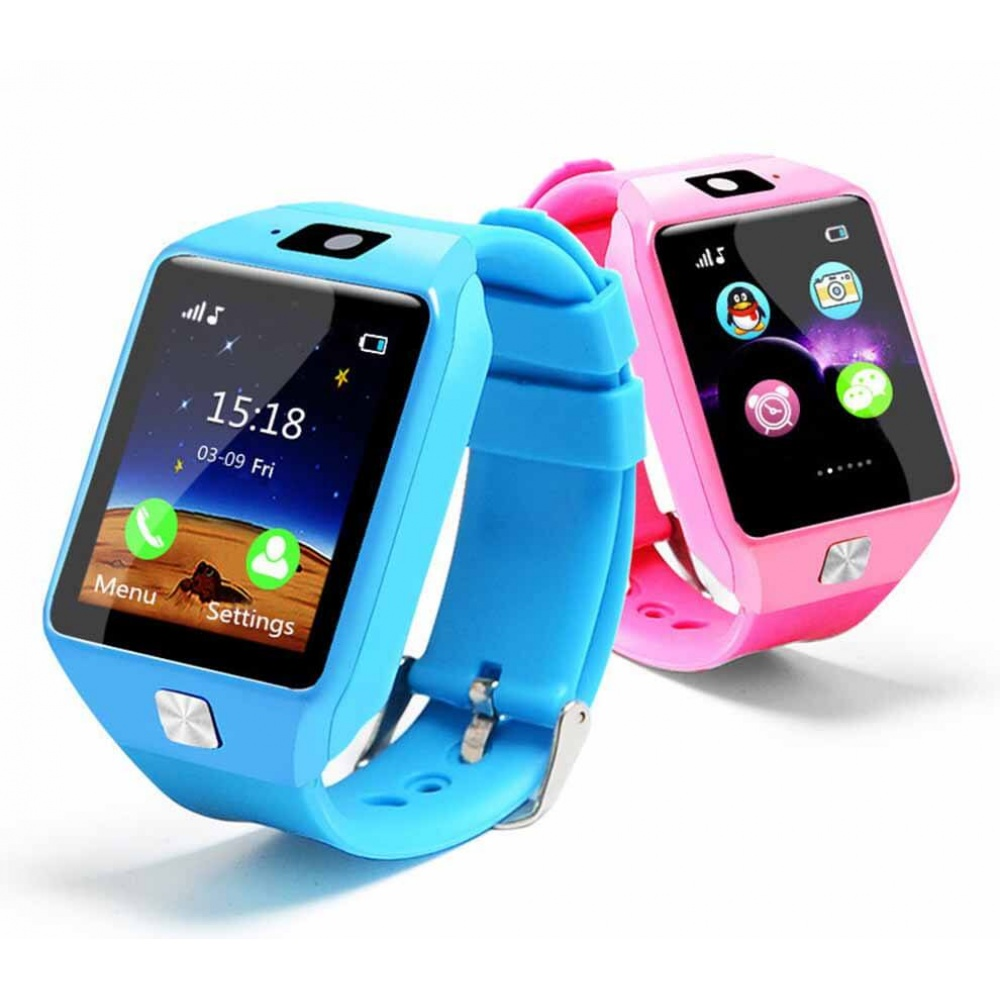 kids children smartwatch bluetooth sim card android ios greek. Black Bedroom Furniture Sets. Home Design Ideas