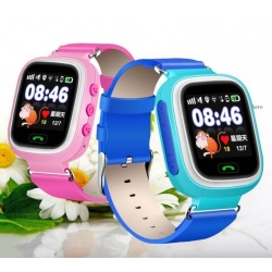Q90 GPS children Smart Watch SOS Safe Monitor kids WiFi