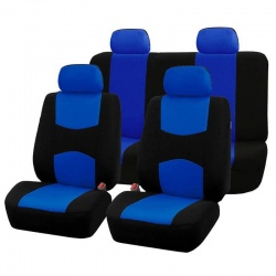 AUTOYOUTH C5 Car Seat Covers Full Set Protection Vehicle Universal