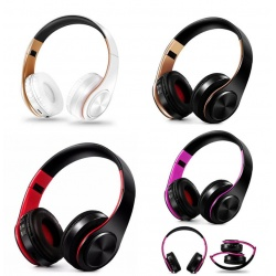 Bluetooth FM SD wireless headset music Headphones