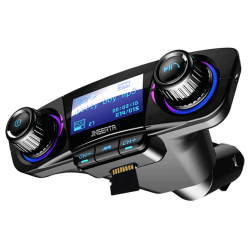 JINSERTA Bluetooth FM Transmitter Modulator Handsfree Car Kit MP3 Player