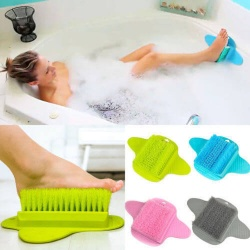 Foot Bath Massage Brush Scrubber Feet Care Washer Shower Cleaner