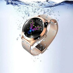 KW10 Women Smart Watch Waterproof Heart Rate Monitor Bluetooth Fitness Bracelet