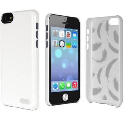 official photos f1f47 9f519 Luxury High gloss Slim Cygnett Case Apple iPhone 5C White