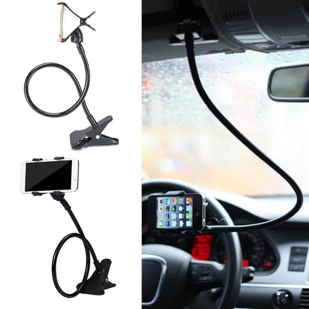 853e0050add6 Long Arm Universal Lazy Bed Desktop Car Stand Mount Flexible ...