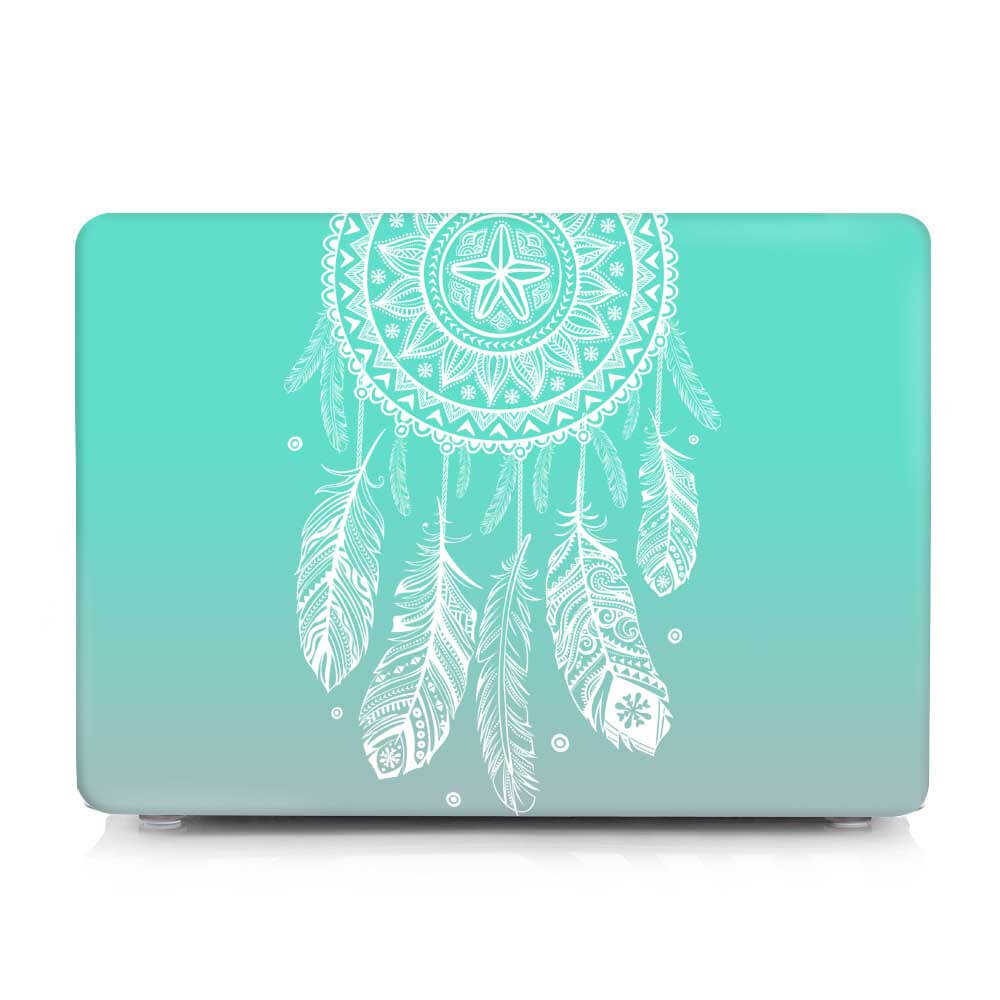 new concept 0b92e 424eb Dream catcher Feather Pattern Hard Laptop bag Case covers For Macbook Air  13 inch