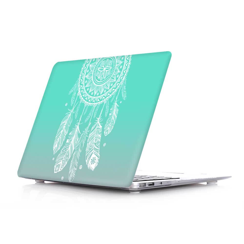 new concept 4ee5a f4fc3 Dream catcher Feather Pattern Hard Laptop bag Case covers For Macbook Pro  13 inch